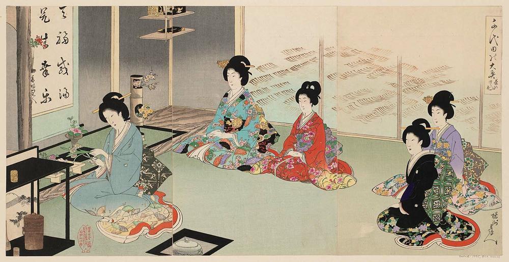 هنر گل آرایی ژاپنی ایکه بانا