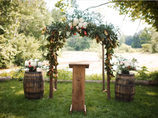 طاق گل عروسی