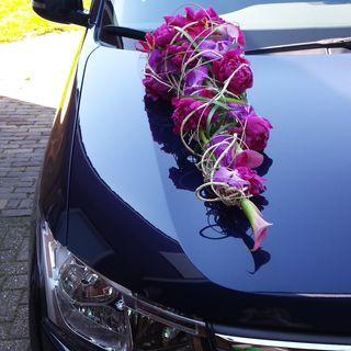 گل آرایی ماشین عروس مدرن