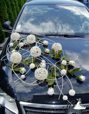 تزیین ماشین عروس مدرن