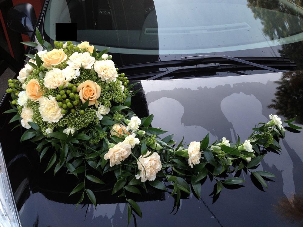 گل زدن ماشین عروس خوشگل