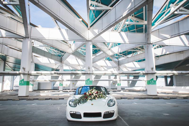 خودرو عروس داماد