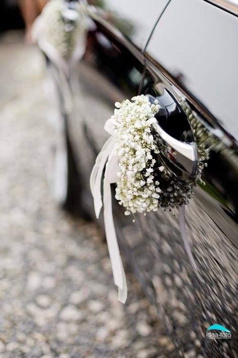 ماشین عروس بوی گل