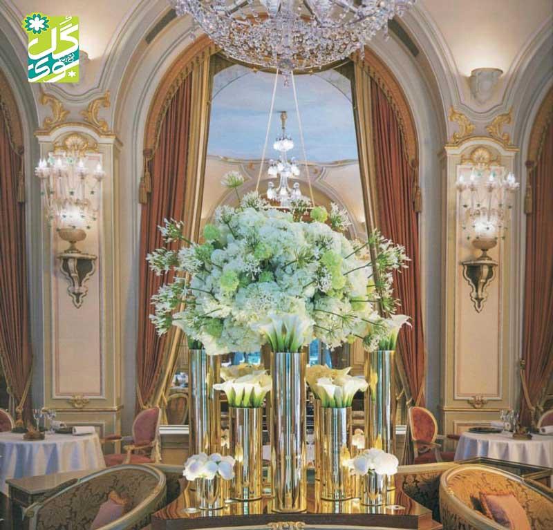 خدمات گل آرایی عروسی